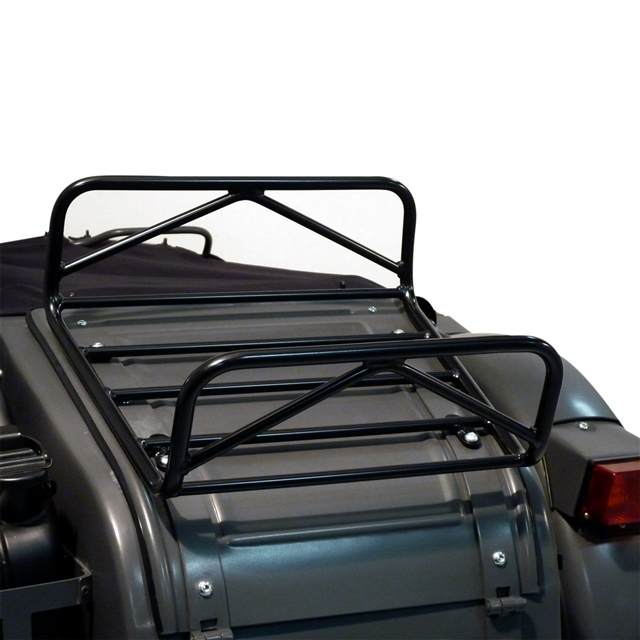 2019 URAL LUGGAGE RACK FOR SIDECAR TRUNK LID - BLACK at Randy's Cycle, Marengo, IL 60152