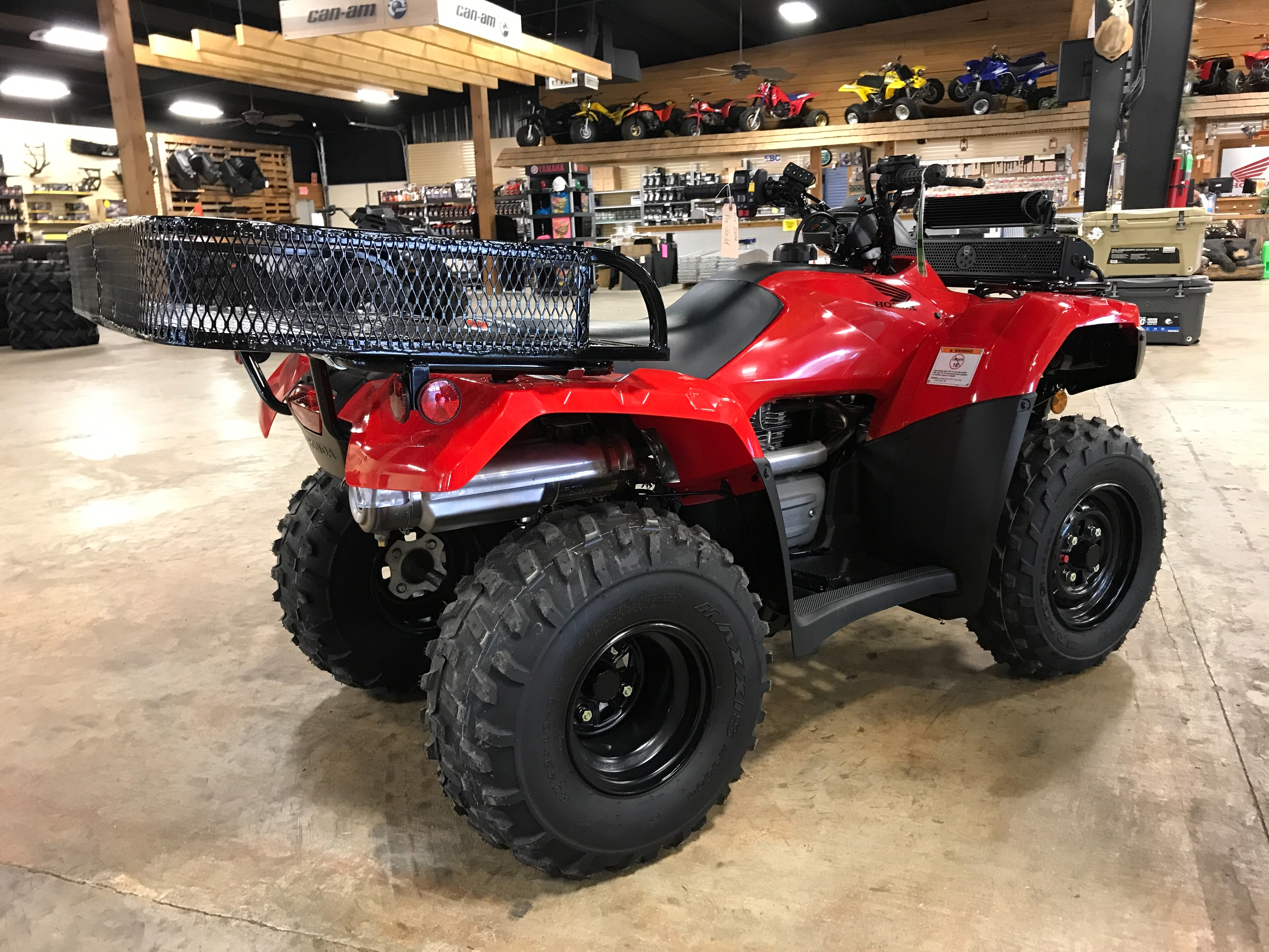 2021 HONDA TRX250TE1M ES at ATV Zone, LLC