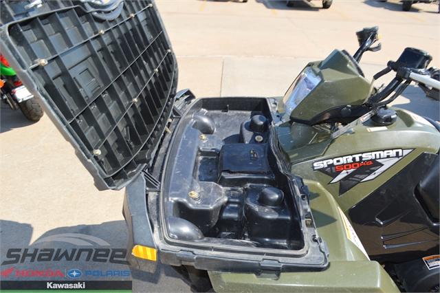 2010 Polaris Sportsman 500 HO at Shawnee Honda Polaris Kawasaki