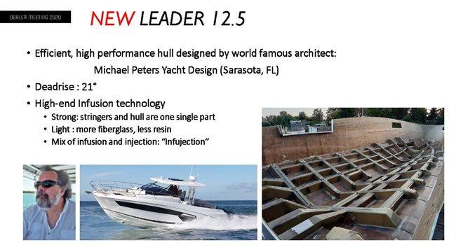 2022 Jeanneau Leader 12.5WA at Baywood Marina