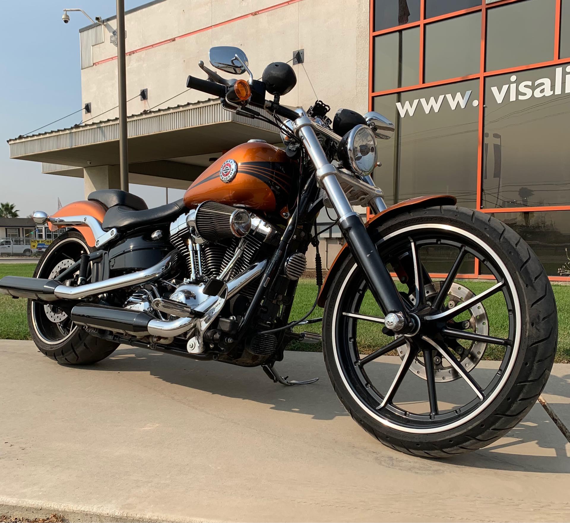 2014 Harley-Davidson Softail Breakout at Visalia Harley-Davidson