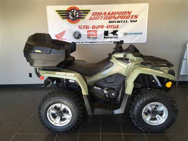 2018 Can-Am Outlander 570 DPS at Champion Motorsports, Roswell, NM 88201