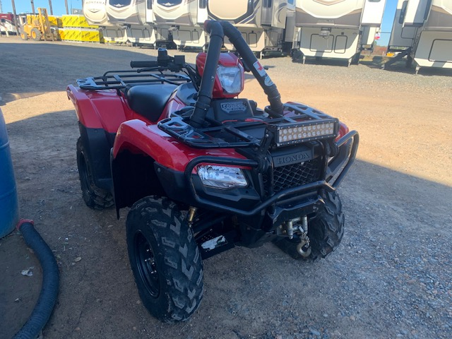 2015 HONDA FOURTRAX FOREMAN RUBICAN 500 at Campers RV Center, Shreveport, LA 71129
