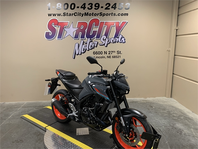 2021 Yamaha MT 03 at Star City Motor Sports