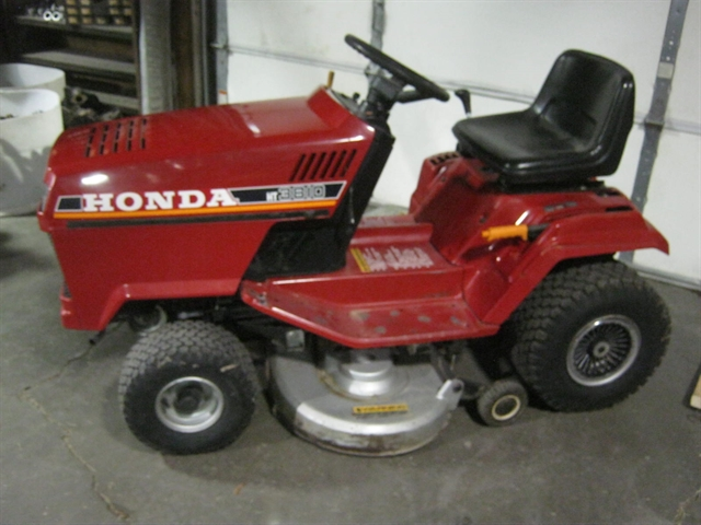 1989 Honda HT3810 Riding Lawnmower HT3810 at Brenny's Motorcycle Clinic, Bettendorf, IA 52722