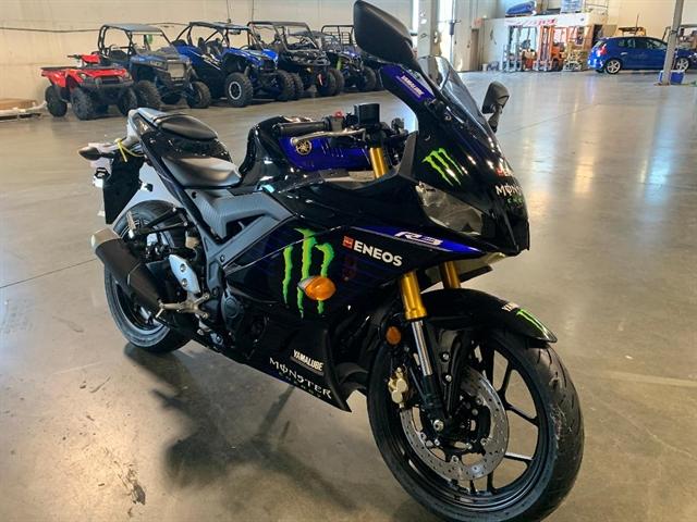 2021 Yamaha YZF R3 Monster Energy Yamaha MotoGP Edition at Star City Motor Sports