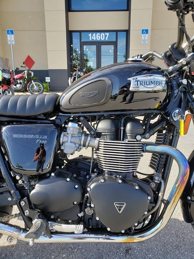 2014 Triumph Bonneville T100 at Fort Myers
