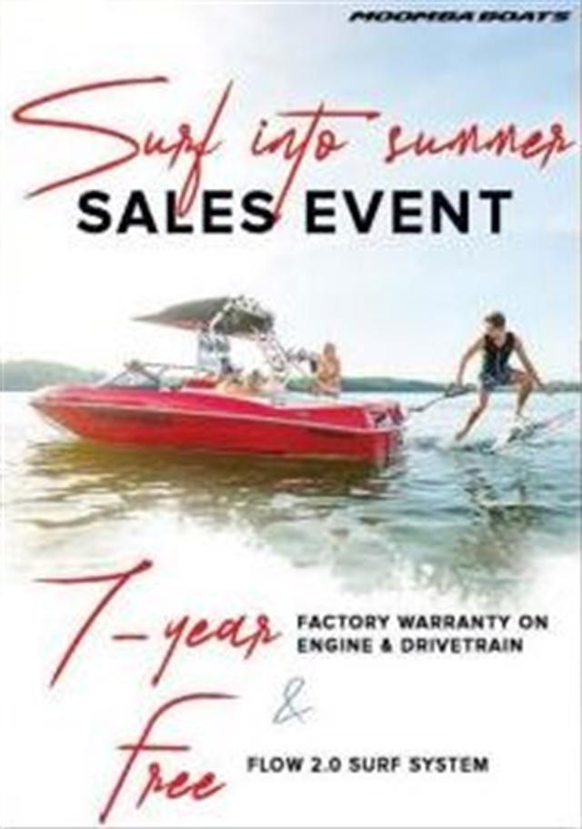 2020 Moomba Boat Show Offer at Fort Fremont Marine
