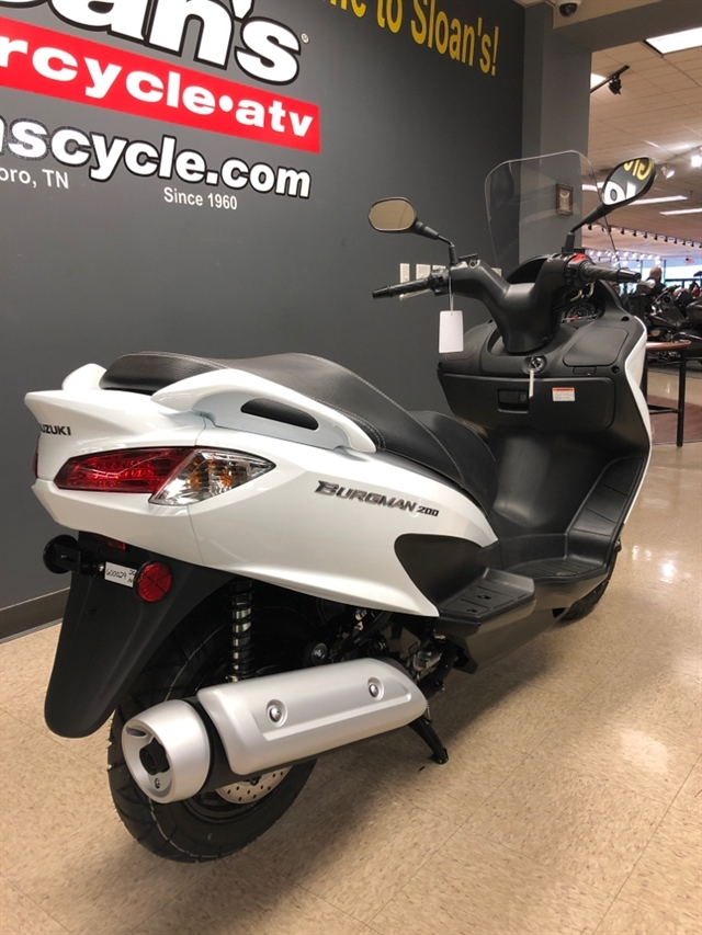 2020 Suzuki Burgman 200 at Sloans Motorcycle ATV, Murfreesboro, TN, 37129