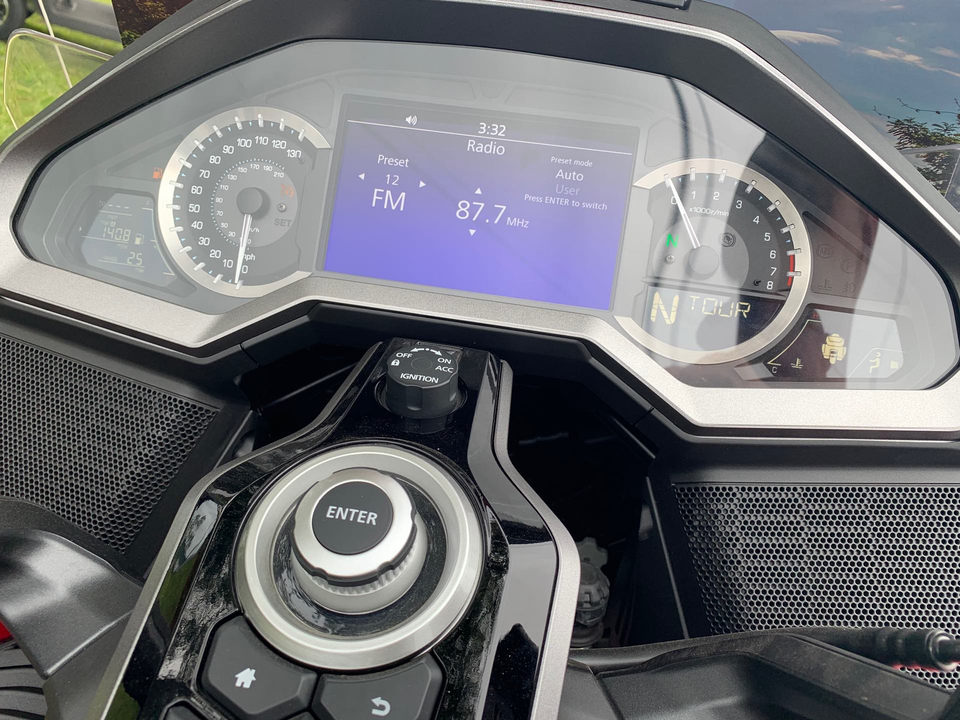 2018 Honda Gold Wing Tour Airbag Automatic DCT Tour Airbag DCT at Powersports St. Augustine