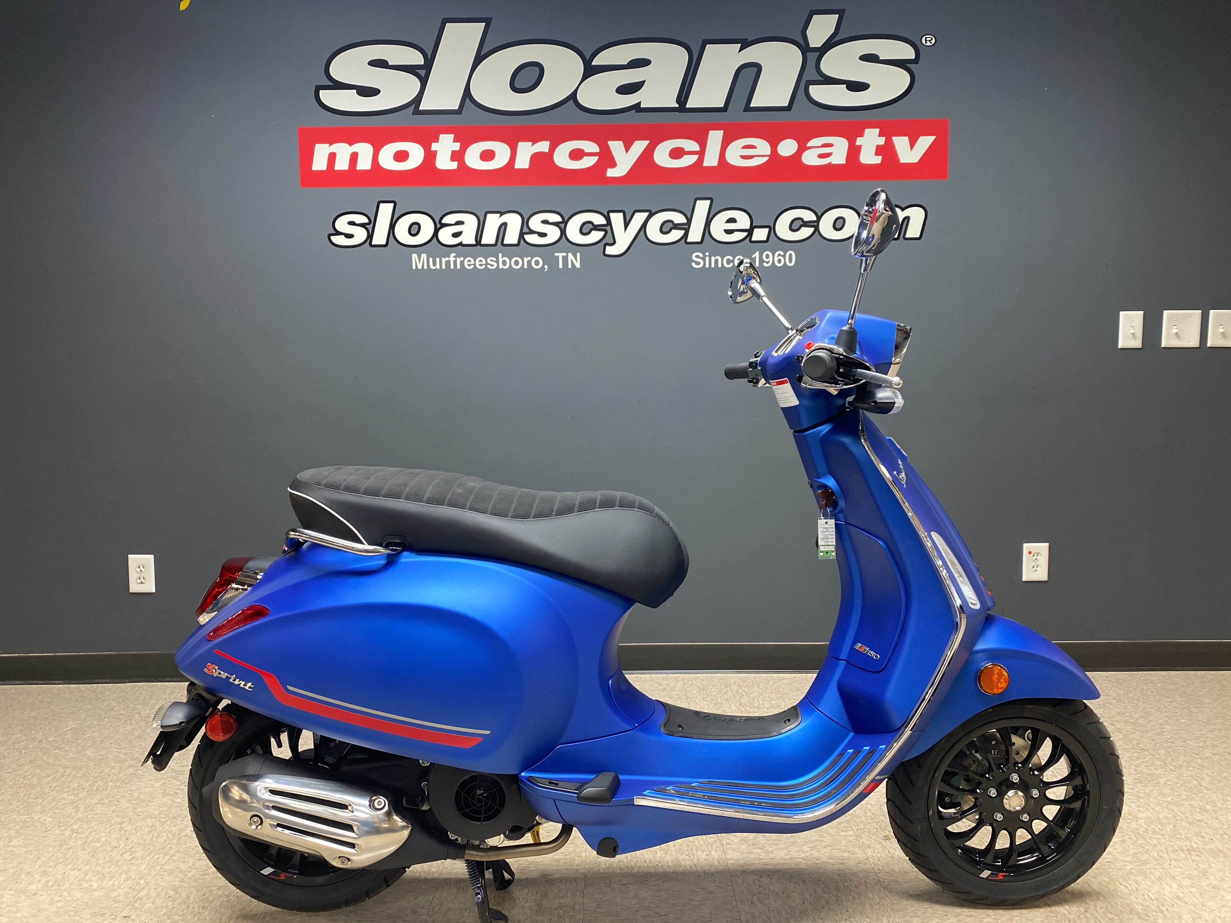 2021 Vespa SPRINT S 150 SPRINT S 150 at Sloans Motorcycle ATV, Murfreesboro, TN, 37129