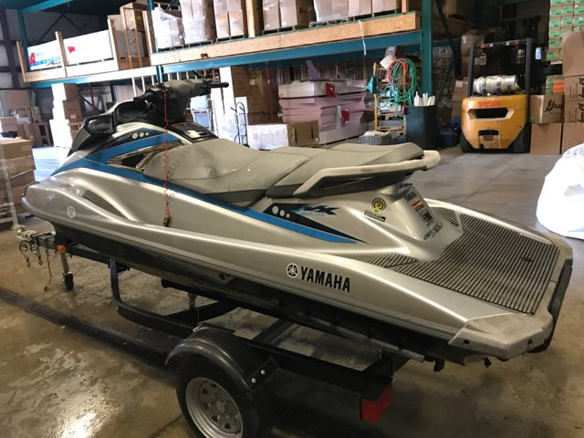 2015 Yamaha VX-Deluxe-with 1052CC Yamaha ONLY 33 HOURS RUN TIME at Pharo Marine, Waunakee, WI 53597