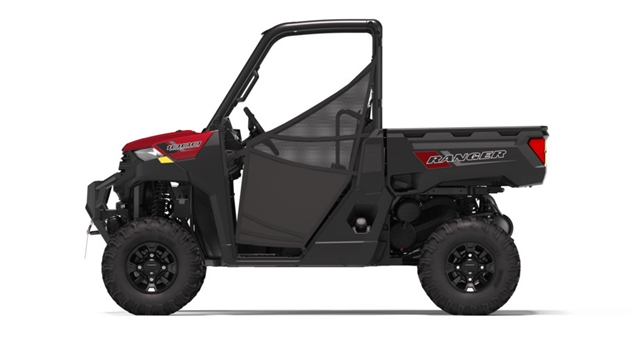 2020 Polaris Ranger 1000 Premium Winter Prep Edition-Sunset Red at Fort Fremont Marine