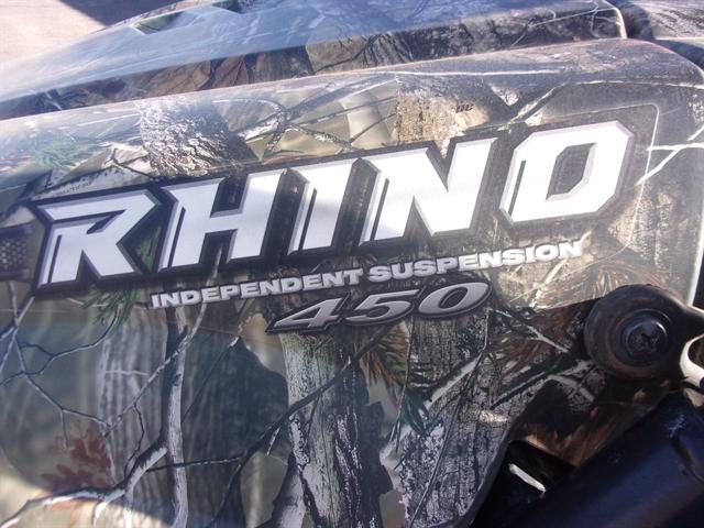 2008 Yamaha Rhino 450 Auto 4x4 at Bobby J's Yamaha, Albuquerque, NM 87110