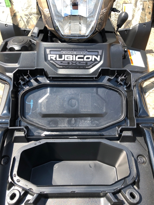 2020 Honda FourTrax Foreman® Rubicon 4x4 Automatic DCT EPS Deluxe at Genthe Honda Powersports, Southgate, MI 48195