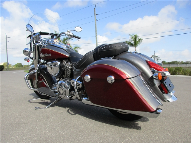 2018 Indian Springfield Standard at Stu's Motorcycles, Fort Myers, FL 33912