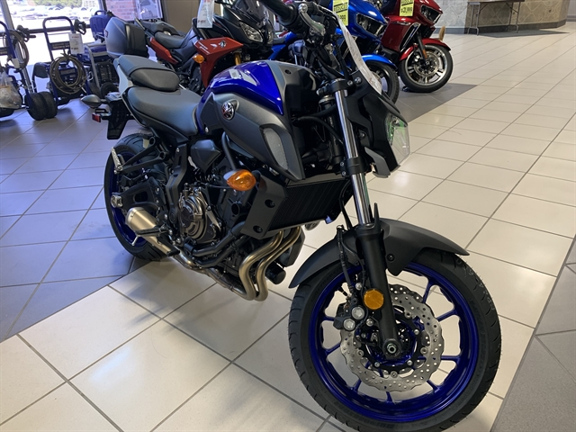 2020 Yamaha MT 07 at Star City Motor Sports