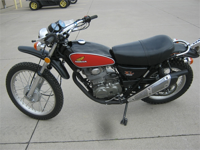 1975 Honda XL350 at Brenny's Motorcycle Clinic, Bettendorf, IA 52722