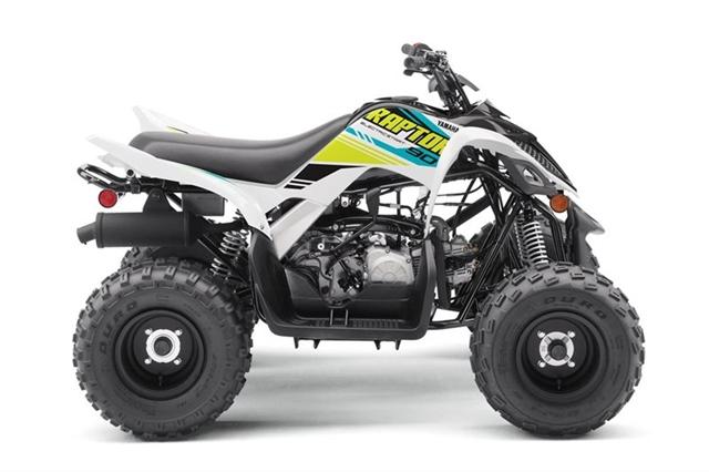 2021 Yamaha Raptor 90 Raptor 90 at ATV Zone, LLC