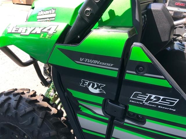 2017 Kawasaki Teryx4 LE at Sloans Motorcycle ATV, Murfreesboro, TN, 37129