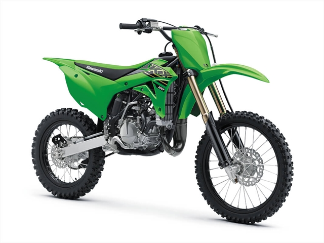 2021 Kawasaki KX 100 at Lynnwood Motoplex, Lynnwood, WA 98037