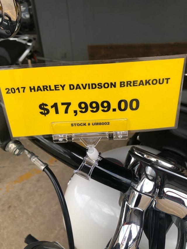 2017 Harley-Davidson Softail Breakout at Wild West Motoplex