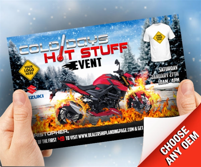2018 Winter Cold Days, Hot Stuff Powersports at PSM Marketing - Peachtree City, GA 30269