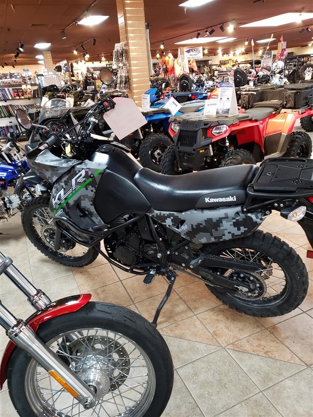 2017 Kawasaki KLR 650 Camo at Reno Cycles and Gear, Reno, NV 89502
