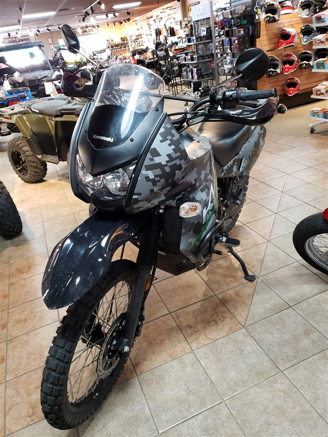 2017 Kawasaki KLR 650 Camo at Reno Cycles and Gear, Reno, NV 89502
