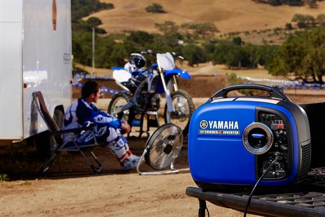 2018 Yamaha Power Portable Generator EF2000iSv2 at Yamaha Triumph KTM of Camp Hill, Camp Hill, PA 17011
