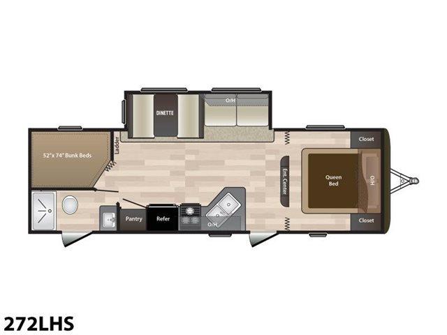 2019 Keystone RV Hideout 272LHS Bunk Beds at Campers RV Center, Shreveport, LA 71129