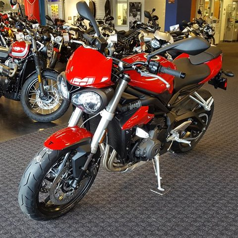 2018 Triumph Street Triple S at Frontline Eurosports