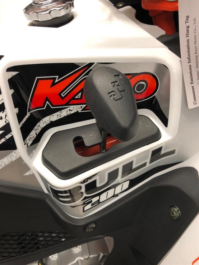2019 KAYO USA BULL 200 BULL 200 at Sloans Motorcycle ATV, Murfreesboro, TN, 37129