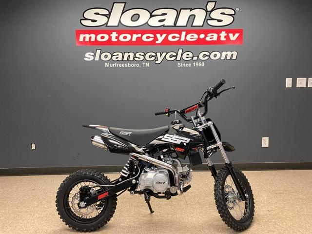 2021 SSR SR125 AUTO SRN125AUTO-21-BK at Sloans Motorcycle ATV, Murfreesboro, TN, 37129