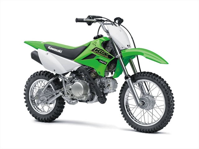 2021 Kawasaki KLX 110R at Lynnwood Motoplex, Lynnwood, WA 98037