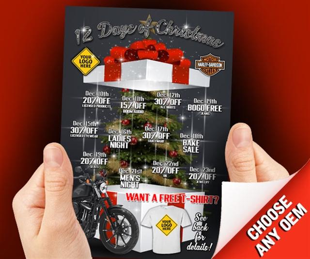 2018 Winter 12 Days of Christmas Powersports at PSM Marketing - Peachtree City, GA 30269