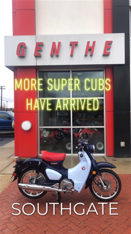 2019 Honda SUPER CUB at Genthe Honda Powersports, Southgate, MI 48195