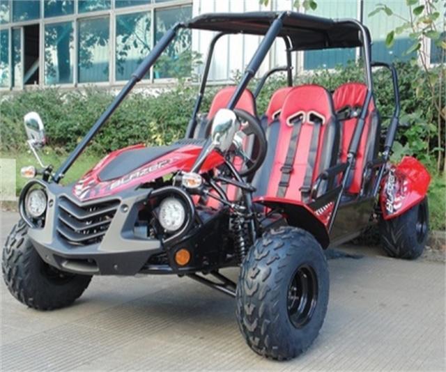 2021 TRAILMASTER BLAZER4-200X  RED at Got Gear Motorsports