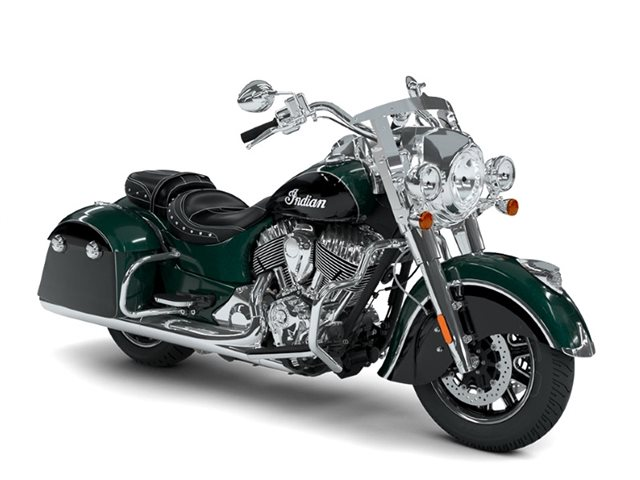 2018 Indian Motorcycle Springfield ABS Metallic Jade over Thunder Black at Brenny's Motorcycle Clinic, Bettendorf, IA 52722