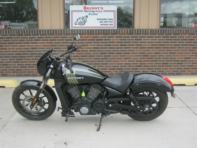 2017 Victory Motorcycles Octane Gloss Black w/Graphics at Brenny's Motorcycle Clinic, Bettendorf, IA 52722