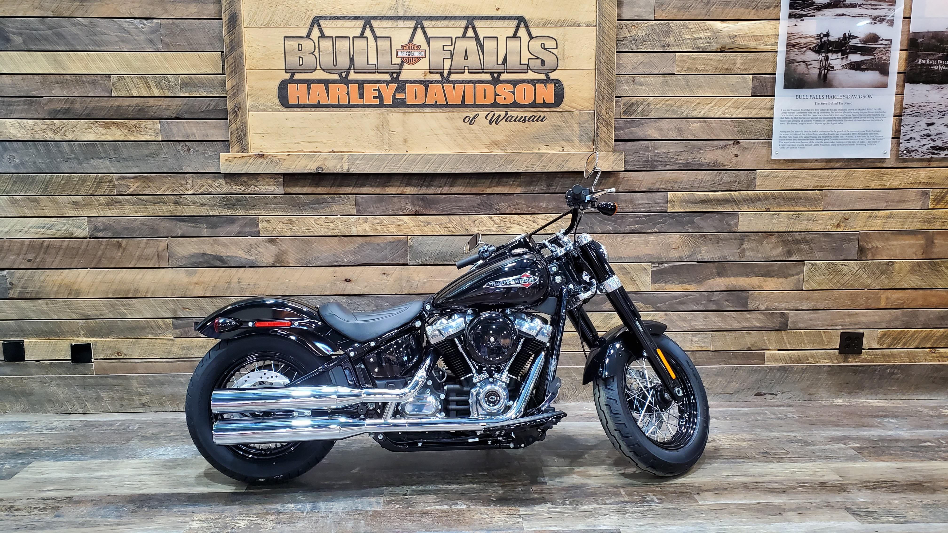 2021 Harley-Davidson Cruiser FLSL Softail Slim at Bull Falls Harley-Davidson