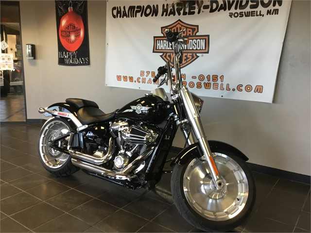 2018 Harley-Davidson Softail Fat Boy at Champion Harley-Davidson