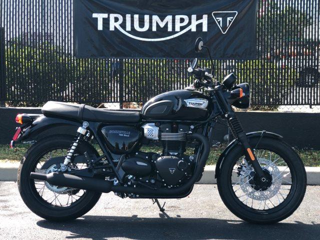 2019 Triumph Bonneville T100 Black at Tampa Triumph, Tampa, FL 33614