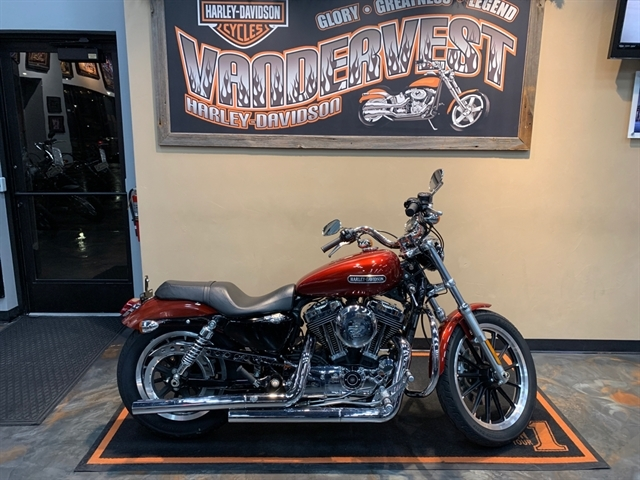 2009 Harley-Davidson Sportster 1200 Low at Vandervest Harley-Davidson, Green Bay, WI 54303