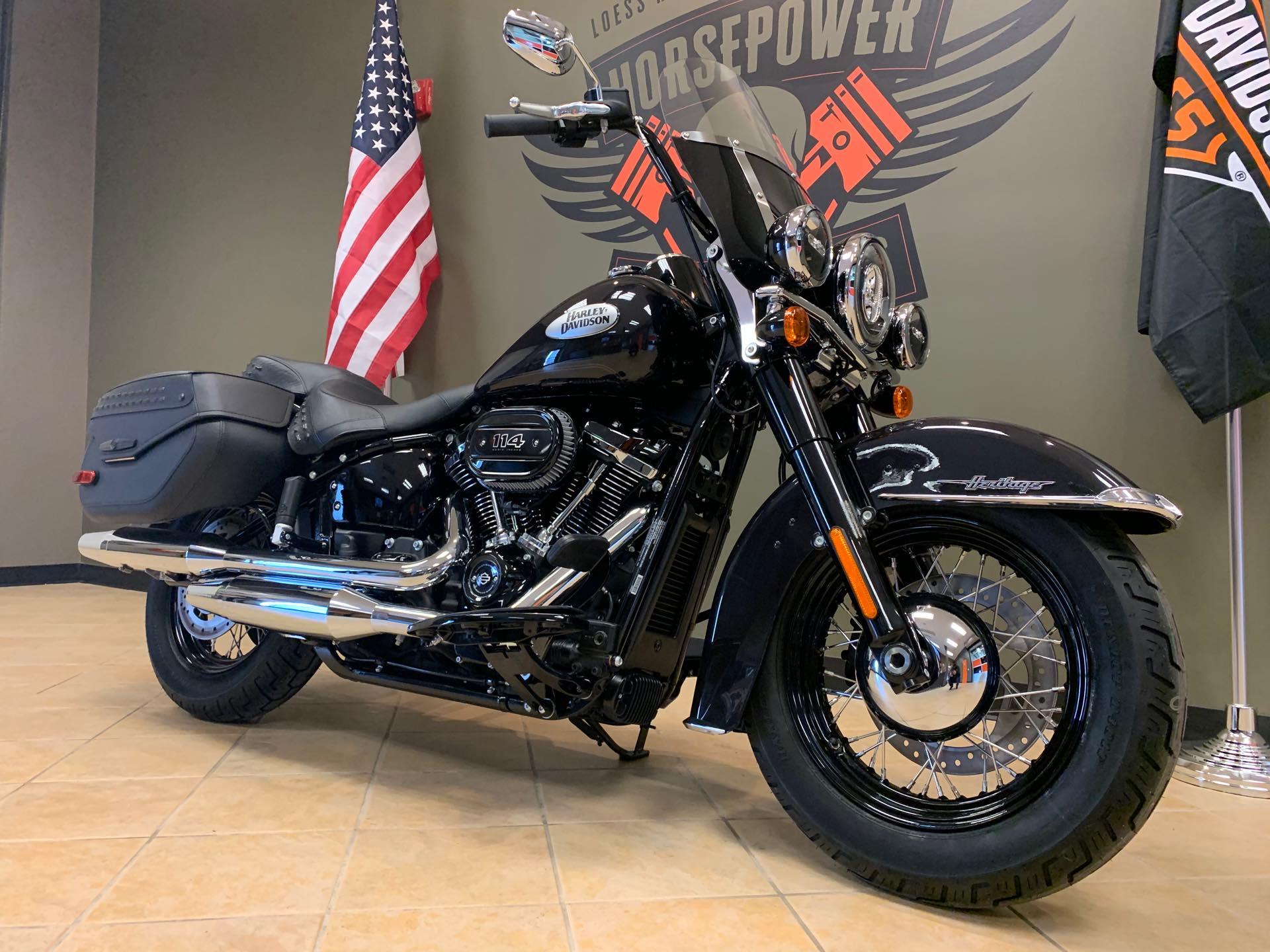 2021 Harley-Davidson Touring FLHCS Heritage Classic 114 at Loess Hills Harley-Davidson