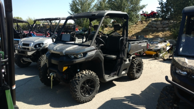 2017 Can-Am Defender HD10 XT $322/month at Power World Sports, Granby, CO 80446