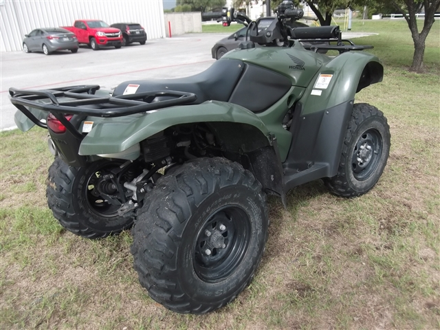 2013 Honda FourTrax Rancher AT With Power Steering at Kent Motorsports, New Braunfels, TX 78130