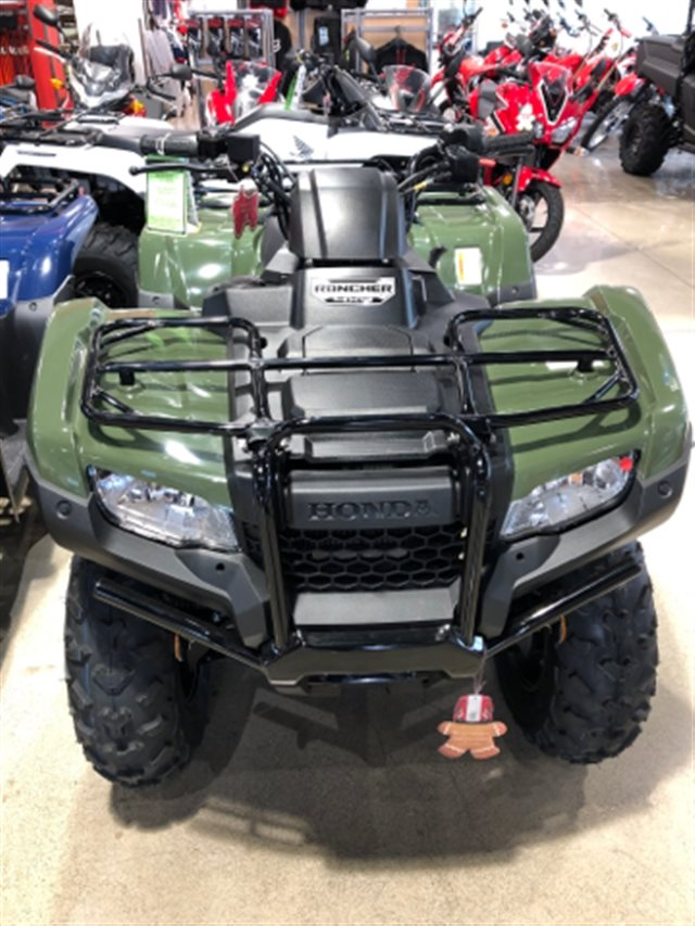 2019 Honda FourTrax Rancher 4X4 ES Electric Shift at Genthe Honda Powersports, Southgate, MI 48195