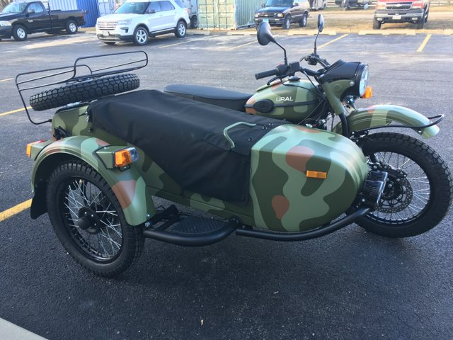 2018 Ural Gear-Up 750 at Randy's Cycle, Marengo, IL 60152