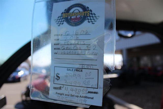 2016 GEM E2 at Mungenast Motorsports, St. Louis, MO 63123